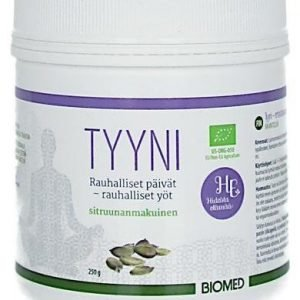 Biomed Tyyni Rentouttava Juomajauhe Sitruuna