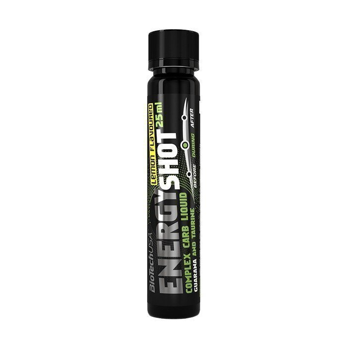 Biotech USA 12-hour energy shock 25 ml lemon