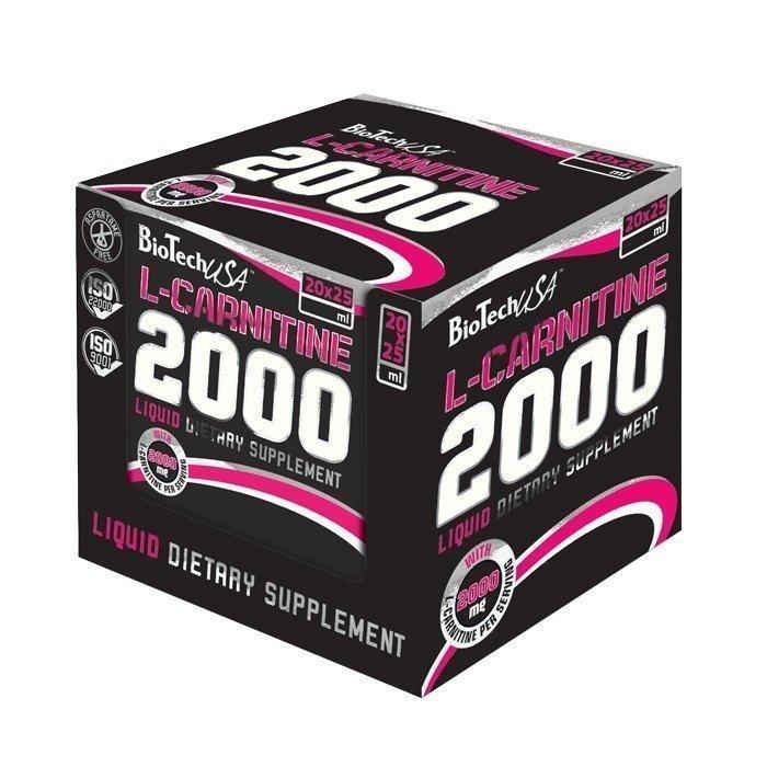 Biotech USA 20 x L-Carnitine 2000 25 ml