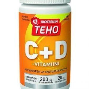 Bioteekin Teho C+D -vitamiini