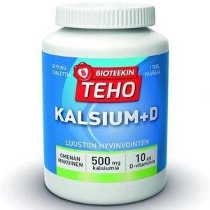 Bioteekin Teho Kalsium+D