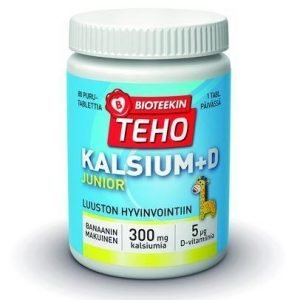 Bioteekin Teho Kalsium+D Junior