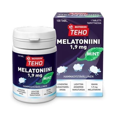 Bioteekin Teho Melatoniini Mint