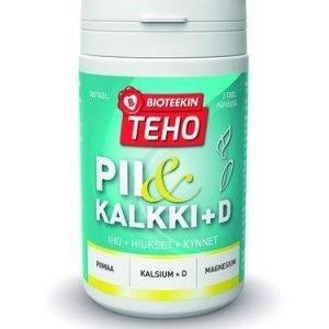 Bioteekin Teho Pii & Kalkki + D