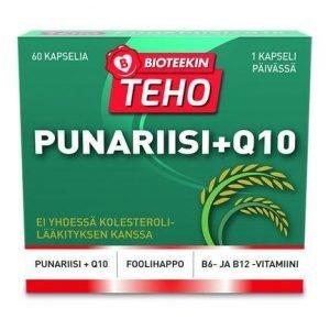 Bioteekin Teho Punariisi+Q10