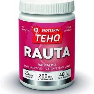 Bioteekin Teho Rauta