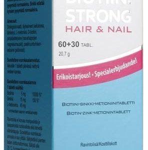Biotiini Strong Hair & Nail Kampanjapakkaus