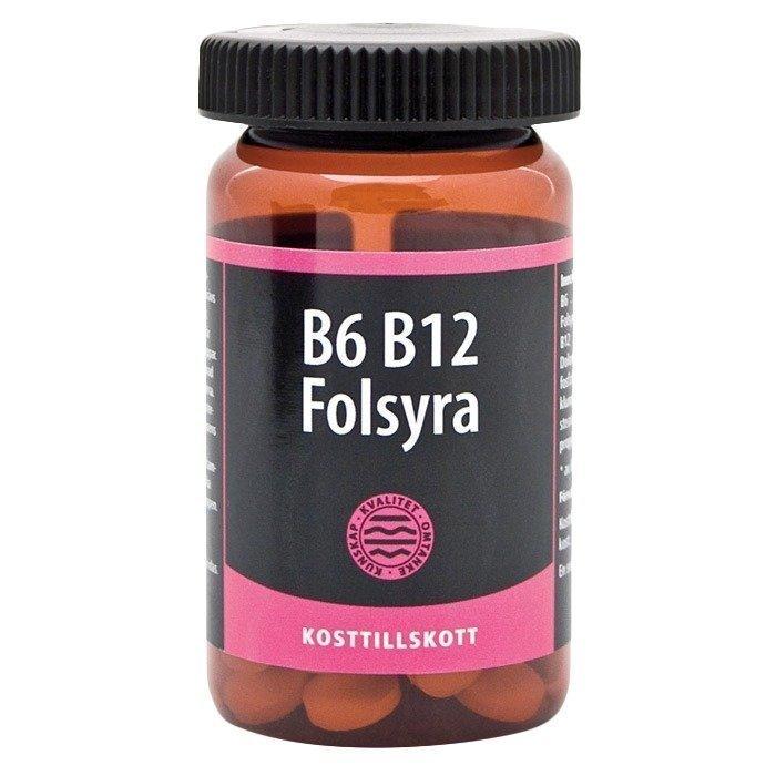 Bringwell B6 B12 Foolihappo 90 tablettia