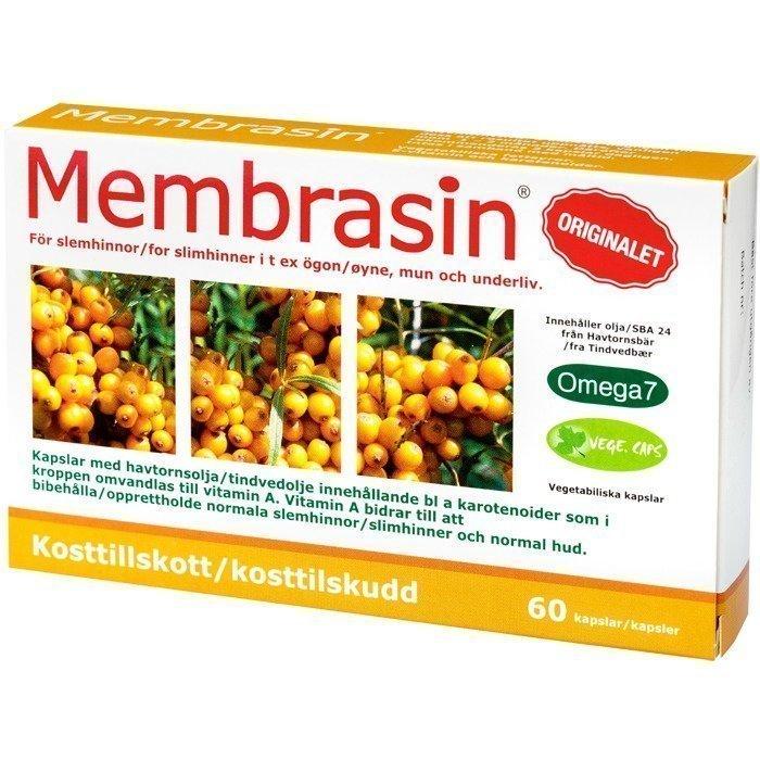Bringwell Membrasin 500 mg 60 kapselia