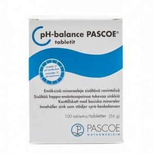 Bringwell pH-balance PASCOE -tabletit