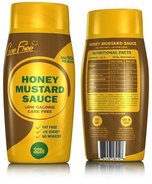 Care Free Foods Honey Mustard Sauce