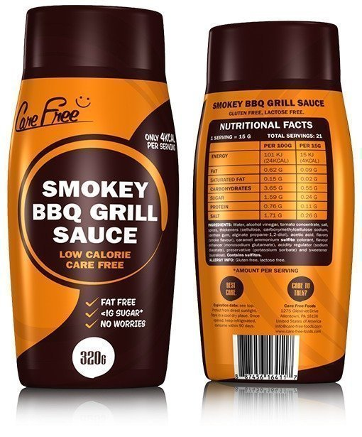 Care Free Foods Smokey BBQ Grill Sauce