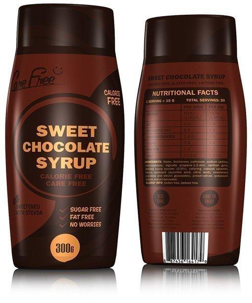 Care Free Foods Sweet Chokolate Syrup