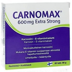 Carnomax 600 Mg Extra Strong