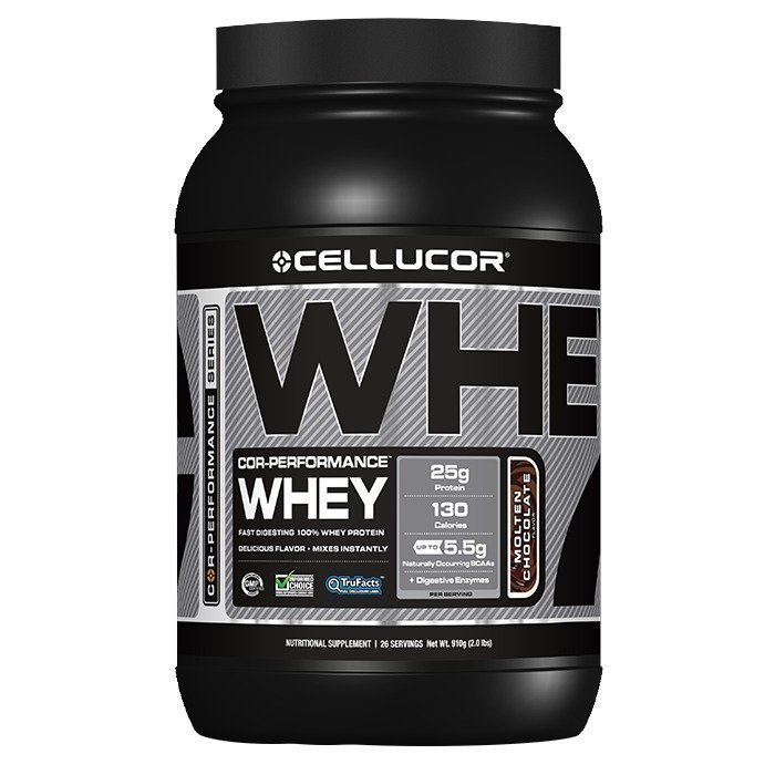 Cellucor COR-Performance Whey 1820g Molten Chocolate
