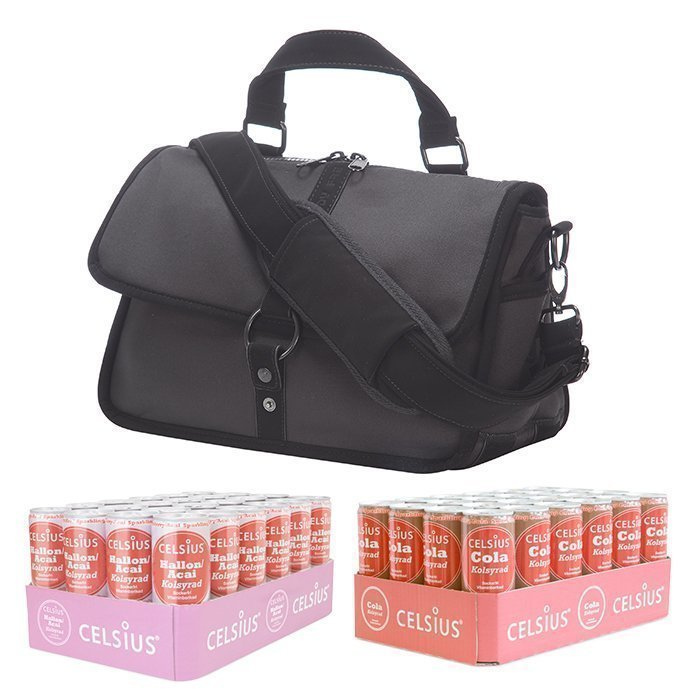Celsius 48 x Celsius 355 ml + Freddy Training Bag