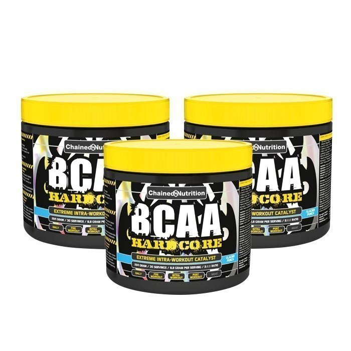 Chained Nutrition 3 x BCAA Hardcore 264 g