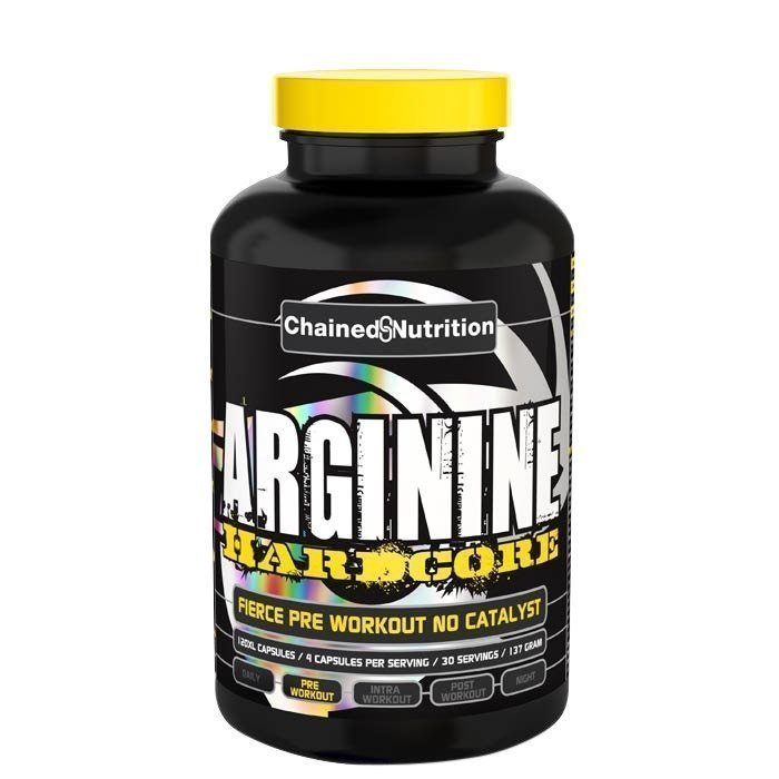 Chained Nutrition Arginine Hardcore 120 XL-caps