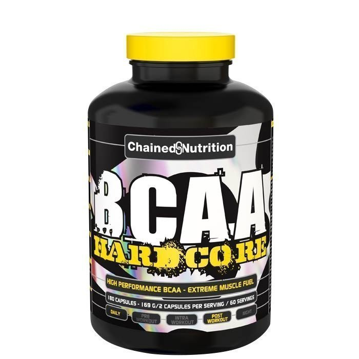 Chained Nutrition BCAA Hardcore Caps 180 caps