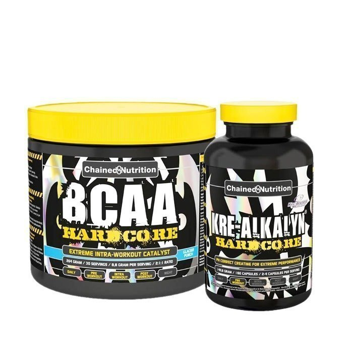 Chained Nutrition BCAA Hardcore + Kre-Alkalyn 160 caps