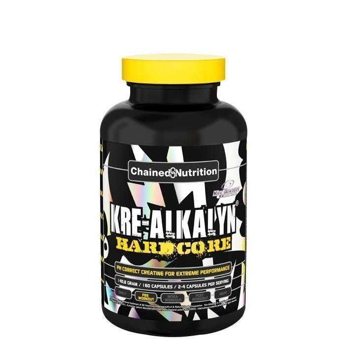 Chained Nutrition Kre-Alkalyn Hardcore 160 caps