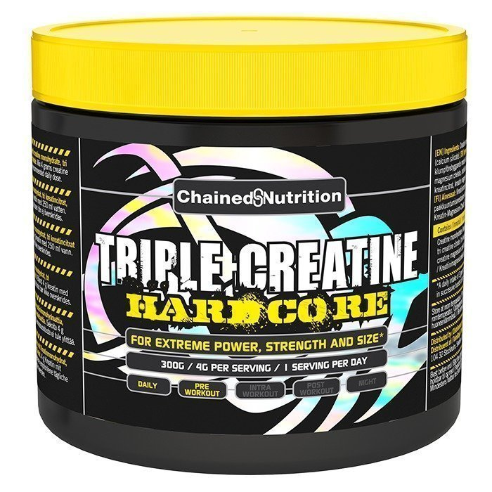 Chained Nutrition Triple Creatine Hardcore 300 g