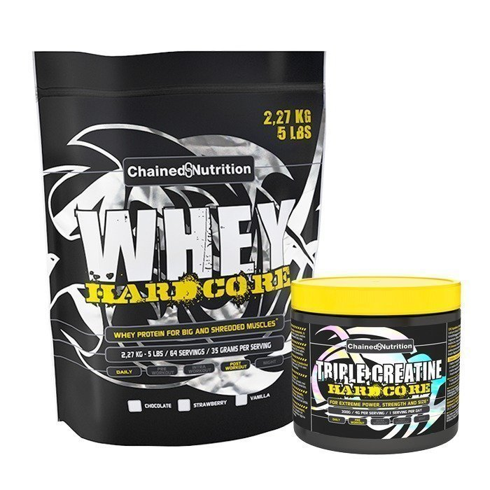 Chained Nutrition Whey Hardcore 2