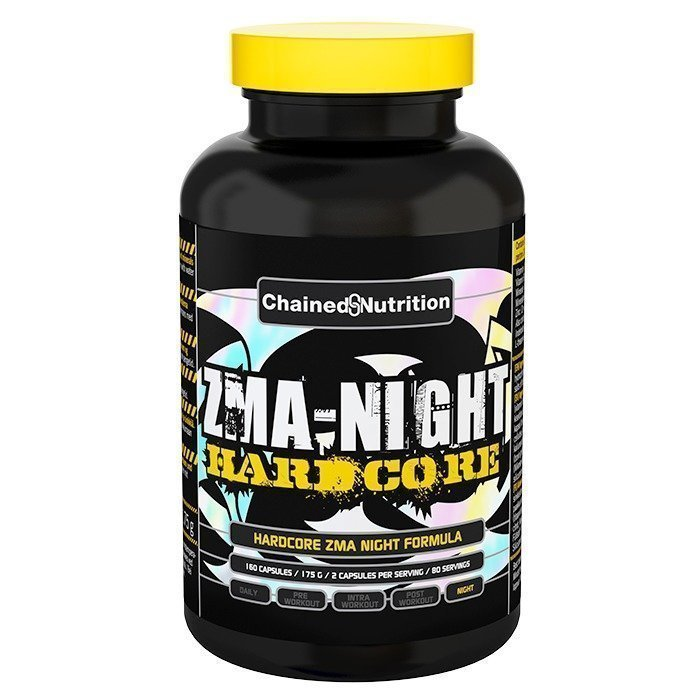 Chained Nutrition ZMA Night 160 caps