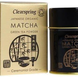 Clearspring Luomu Matcha Vihreä Teejauhe