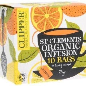 Clipper Luomu Appelsiini & Sitruuna Tee
