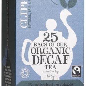 Clipper Luomu Kofeiiniton Musta Tee