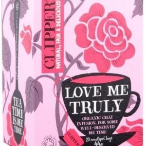 Clipper Luomu Love Me Truly Tee