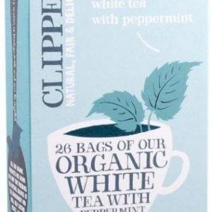 Clipper Luomu Valkoinen Piparminttu Tee