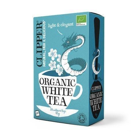 Clipper Luomu Valkoinen Tee