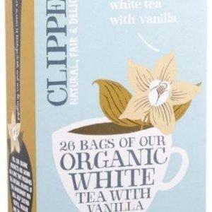 Clipper Luomu Valkoinen Vanilja Tee