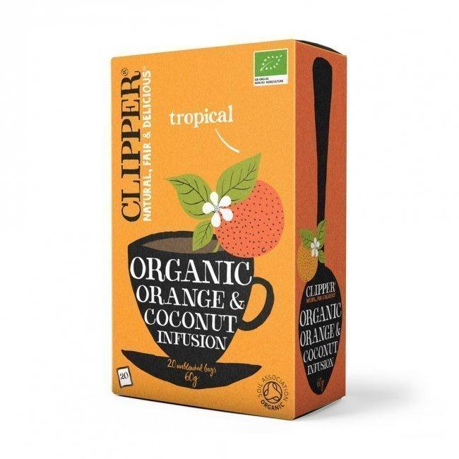 Clipper Orange & Coconut tee