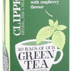 Clipper Vihreä Ginseng Tee