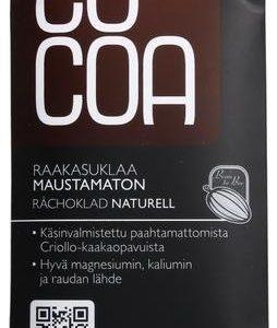 Cocoa Luomu Raakasuklaa 70 %