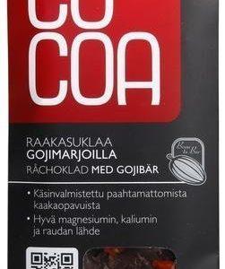 Cocoa Luomu Raakasuklaa Goji