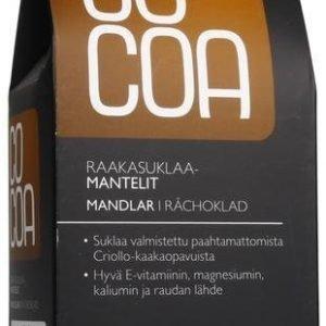 Cocoa Luomu Raakasuklaapäällysteiset Mantelit