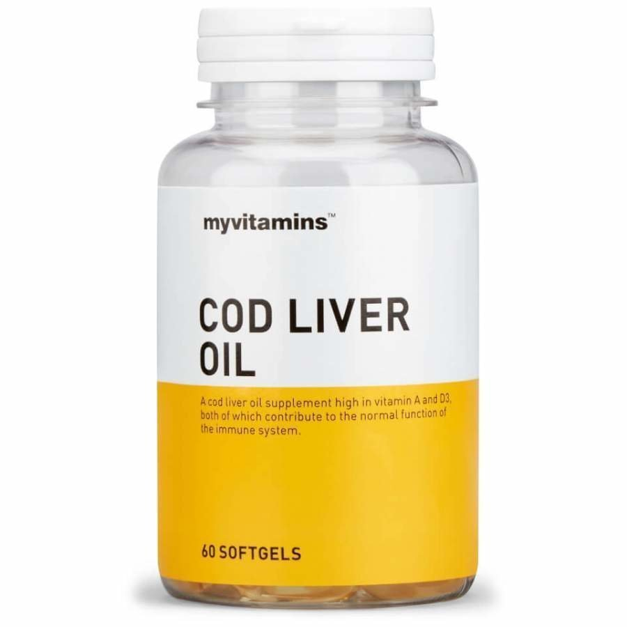 Cod Liver Oil 1 Month 60 Capsules