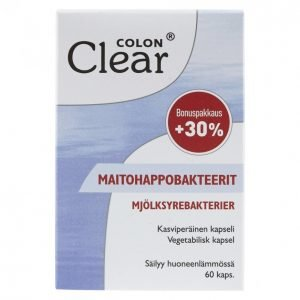 Colon Clear Maitohappobakteeri 60kpl