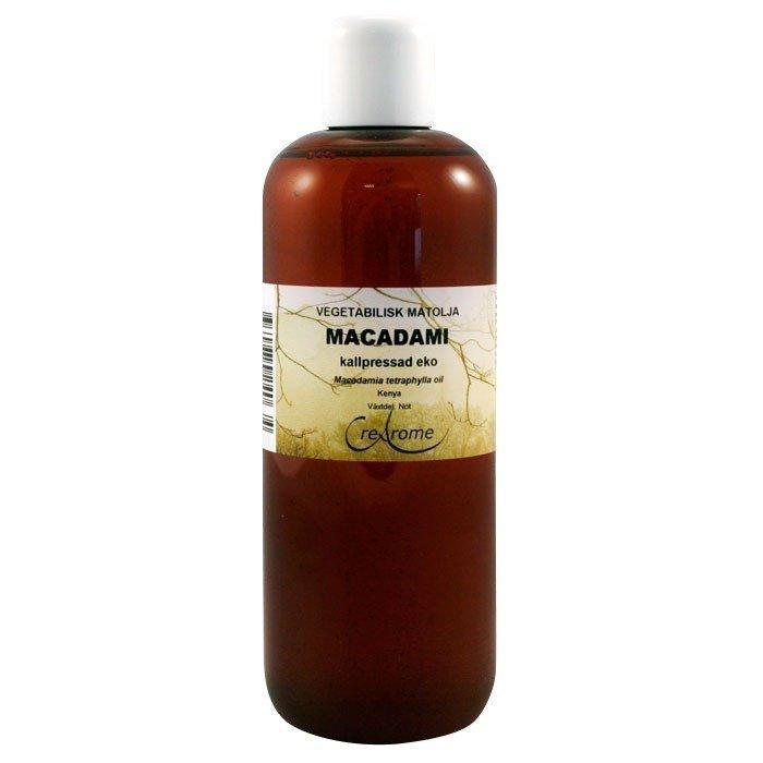 Crearome Makadamiaöljy Kylmäpuristettu EKO 500 ml