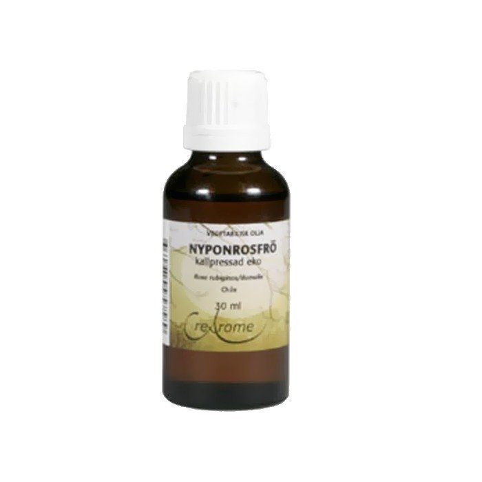 Crearome Ruusunmarjasiemenöljy (kylmäpuristettu) 30ml