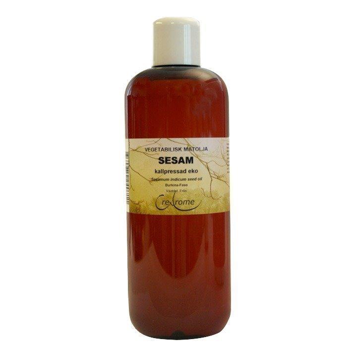 Crearome Seesamiöljy kylmäpuristettu EKO 500 ml