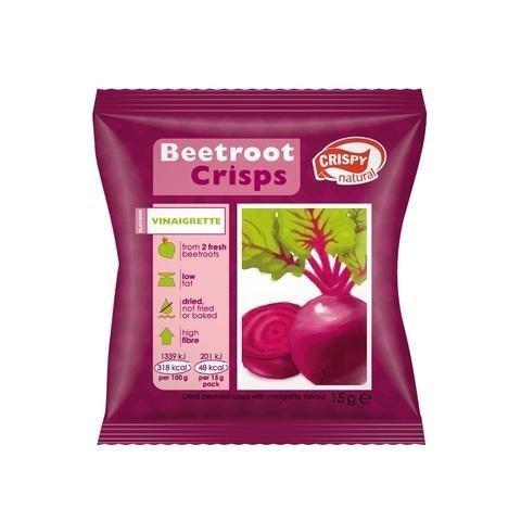 Crispy Natural Punajuurilastut