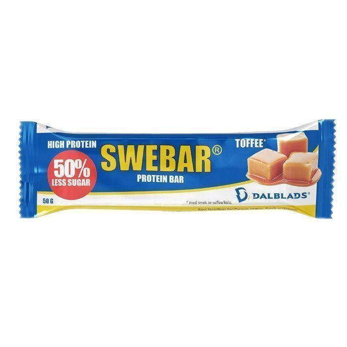 Dalblads Swebar Less Sugar 50 g Choco/Orange