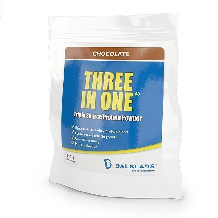 Dalblads Three In One 750 g Banaanisuklaa