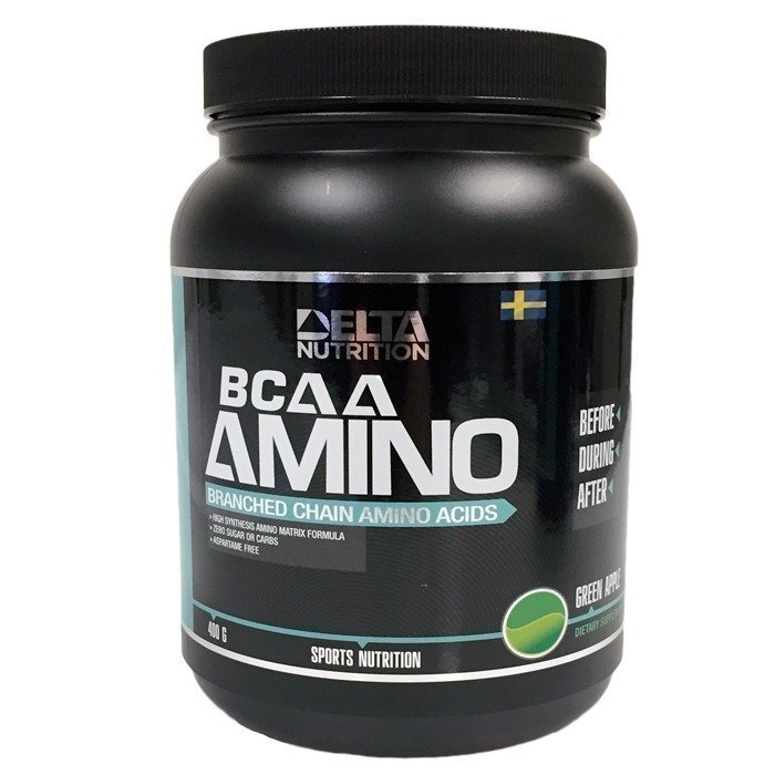Delta Nutrition BCAA Amino 400 g Green Apple