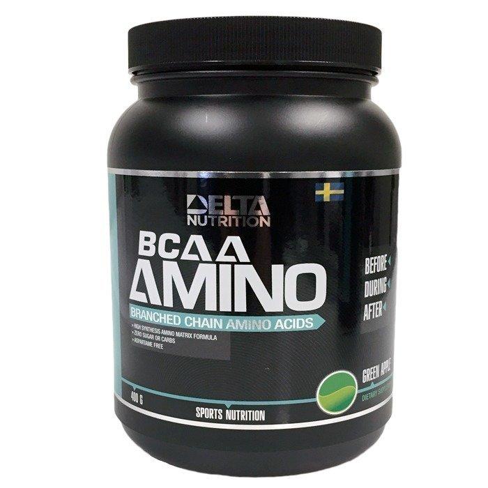 Delta Nutrition BCAA Amino 400 g Raspberry